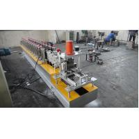 China Automatic 4Kw 12 Roller Stations 1.2 Inch Steel Roll Forming Machine with Two Output Table on sale