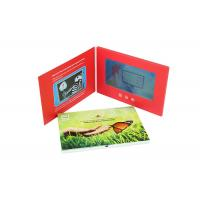 Quality A5 7 Inch Advertising LCD Promotional Video Card Book With Customized Printing for sale