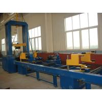 China H Beam Assembly Machine Hydraulic Synchronize Clamp Flange Web Plate Combined Made in China on sale
