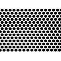 Quality 3mm Thick  Aluminum Perforated Metal , Powder Coated Perforated Alum Sheet AA1100 for sale
