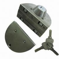 Quality Stainless steel glass door lock, satin or mirror finish for sale