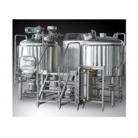 Quality Stainless Steel Small Brewery Equipment , Beer Brewery Taproom For Beer Making for sale