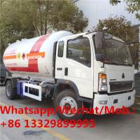 Quality HOT SALE! customized best price SINO TRUK HOWO 4*2 LHD 15,000Liters lpg gas dispensing truck, lpg gas transported truck for sale