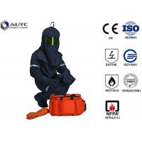 Quality Industrial Protector PPE Safety Wear Fashionable Neckline Cuff Leg Opening Design for sale