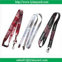 Quality Digital Print Factory ID Badge Holder Lanyard With Custom Logo for sale