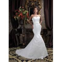Quality Cheap Customer-Made Design sweetheart mermaid and embroider Wedding dress with lace up 2011 for sale