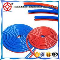Quality OXYGEN AND ACETYLENE HOSE RED AND GREEN TWIN WELDING HEAT RESISTANT for sale
