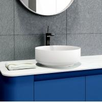 China Elegant Look Counter Top Vanity Basins Stain And Chemical Resistance on sale