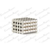 Quality Circle Magnet Dia 4 * 4 mm NdFeB Magnets Coated NiCuNi For Magnetic Clamp for sale