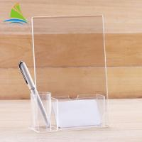 Quality Modern Customized Freely Soluble In Multiple Organic Acrylic Tag Holder On Table for sale