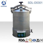 Quality Surgical Equipment:Sterilizer&Nebulizer,SDL-D0301 portable pressure steam sterilizer for sale
