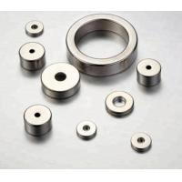 Quality High Strength Ring Shaped Magnet Nickel - Copper - Nickel Triple Layer Coated for sale