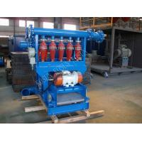 Quality 10 Cyclone Drilling Mud Desilter to separate clay and fine sand power CNQ 100 for sale