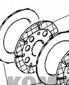 Quality Friction Brake plate Paper Based Komatsu DISC CA0132690 for Heavy equipment for sale
