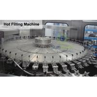 Quality 4 In 1 Monoblock Pulp Juice Hot Filling Machine for PET Bottles for sale