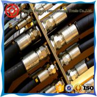 Quality HYDRAULIC HOSE 3/8 INCH HEAT RESISTANT HIGH PRESSURE MADE IN CHINA for sale