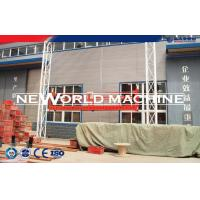 Quality Hot Dip Galvanizing Suspended Wire Rope Platform 800kg 150m 1.5kw / Suspended Working Plat for sale