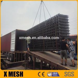 Quality Concrete Reinforcement Welded Mesh Panel Square Hole Shape 150 X 150 Mm Size for sale