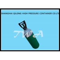 1L EU Certificate Aluminum Gas Cylinder Green Highly Corrosion Resistance