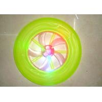 Quality Funny Toys 23CM  Plastic Frisbee Flying Disc with LED Light for sale