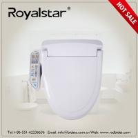Quality Open Front Heated Toilet Seat Cover , Heated Commode Seat Built In Seat Sensor for sale