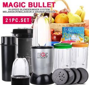 Magic bullet 21pcs hi-speed blender