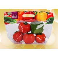 Plastic Stand Up Pouches With Ziplock , Custom Printed Clear Bags For Food