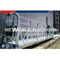 Quality Powered Suspended Platform Cradle Gondola for external wall , cleaning window for sale