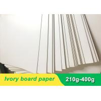 China Environmental 300gsm Ivory Board Paper cardboard paper sheet for invitation card on sale