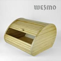 Quality WKB0330A Eco Friendly Bamboo Bread Storage Container - Kitchen Storage Container for sale