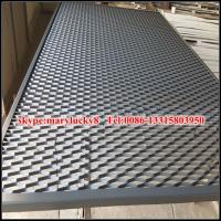 Quality architechtural metal mesh facade cladding/expanded metal facade cladding for sale