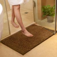 Quality Chenille Bath Rug Plush Carpet Mat In Bedroom Machine Washable Rug Baths Toilet Lid Cover Mat for sale