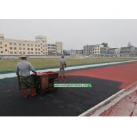Quality 13mm Synthetic Rubber Flooring Abroad Construction Service On - Site Guidance for sale