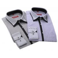 China New arrival Long sleeve shirts men shirts cotton polyester wash business professional men on sale
