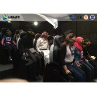 Buy cheap Electronic / Pneumatic 5D Movie Theater System  With Small 9 Motion Seats Digital Cinema System product