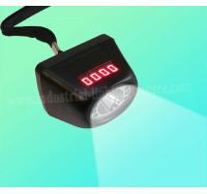 China Cree XPE Digital LED 1 Watt Miners Cap Lamp 120lm Cordless , MSHA CE on sale
