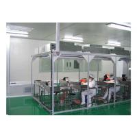 China Aerospace / Electronics Softwall Clean Room Chamber With HEPA Air Filter 110V / 60HZ on sale