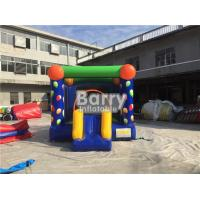 China Digital Printing Balloon Inflatable Outdoor Bouncy Castle With Slide Good Tension on sale