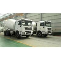 Quality 6*4 Drive Mode Special Purpose Vehicles SHACMAN Used Concrete Mixer Trucks for sale