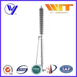 Buy cheap 110KV Transmission Line Surge Arrester , KEMA Lightweight Lightning Protector product