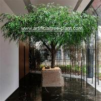 Tabletop Large Artificial Weeping Willow Tree Restaurant Decoration 2.5m Height for sale