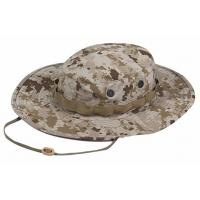 Quality Quick Dry Military Boonie Hat With String , Army Boonie Cap For Outdoor Sports for sale