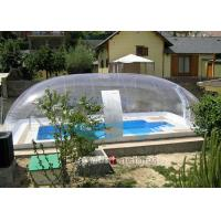 Quality Clear Bubble Wrap Pool Cover Waterproof Bubble Dome Tent Cover For Pool for sale