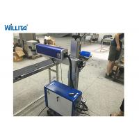 Quality 20W Wisely Portable Fiber Laser Marking Machine With Ezcad for sale