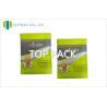 Cheap Green Pharmaceutical Aluminum Foil Bags With Tear Notch SGS wholesale