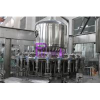 China Hot filling Orange Juice Filling Machine for glass jars with twist off caps on sale
