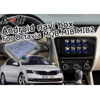 Quality Octavia Mirror Link Car Navigation System WiFi Video For Tiguan Sharan Passat Skoda Seat for sale