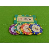 Buy cheap Casino Baccarat Invisible UV Mark Poker Chip ABS Casino Chip With Sticker product