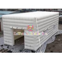 Buy cheap White Outdoor Inflatable Party Tent Serurity Guarantee EN14960 Certificate product
