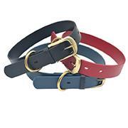 China Waterproof Strong TPU Leather Dog Collar on sale